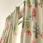 100% polyester blackout curtain for children room decoration