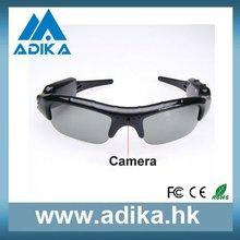 High Quality Hidden Secret Security Sunglasses Camera Hot Sale ADK1052B