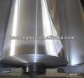 papel de aluminio de materia prima