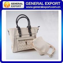 Latest Fashion Lady PU Leather china leather handbag