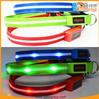 Rechargeable safety dog collar led glowing dog products for hot sale TZ-PET6100U