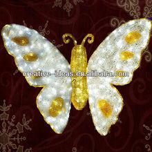 3D LED butterfly Motif Decoration, Fashion Decoration