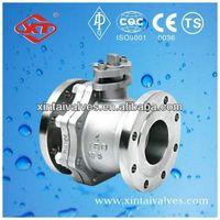 black carbon steel ball valve floating ball valve extended stem ball valve