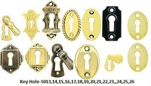 Door Key Hole, Aldrops, Hinges, Pipe Handle, Plate Handle anything related to door fittings bathroom fittings