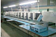 Barudan chenille embroidery machine/12 heads