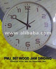 Recuerdo la promoción wallclock pmj_507 madera dinding mermelada de recuerdos promosi/regalo/la promoción
