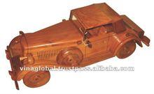Duesenberg Handmade Wooden Car