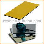 ACP Mirror Aluminum Board Curtain Wall Aluminum Screen Room Building Materials