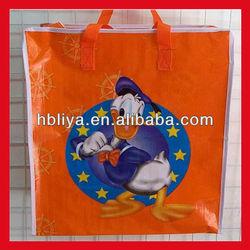 Shopping custom heavy duty resealable plastic bag