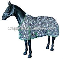 Camo ropa ecuestre; 600d camuflaje de tela de alta moda ropa ecuestre; la participación de caballos de montar a caballo ropa