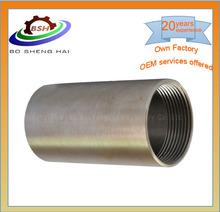 China OEM precision machining threaded motor bushing