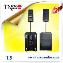 powered active speaker pro audio sub woofer
