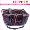 2014 soft foam dog carrier ,expandable dog carrier bag