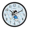 perro de dibujos animados reloj de pared