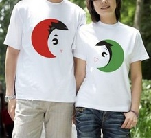 Personalized Couples Designer Brand Cotton Printed T-shirts