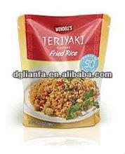 food grade plastic bags wholesale/ cooking food in plastic bags/ fried rice plastic bag