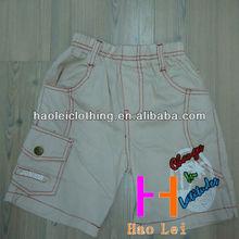 Meninos de carga calças de algodão meninos crianças calças calças projeto fresco
