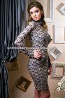 High Quality Black Color Women's Sexy Dress