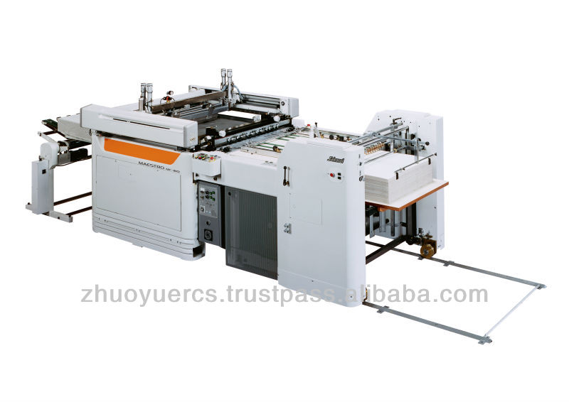 Used Sakurai automatic screen printing machine