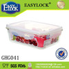 Easylock glass food storage containers microwave safe