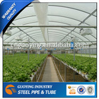 BS1387 galvanized steel greenhouse pipe easy bending