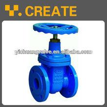 Non-rising stem flexible seat seal gate valve