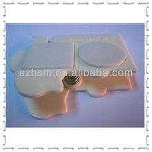 Magnetic plastic bag clip fridge magnet