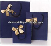 2014 New printed luxury handle paper bags