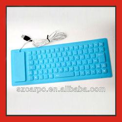New 2014 flexible silicone medical keyboard KF-03