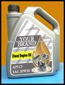 Sae 20w50 Heavy Duty Automotive óleo do motor Diesel