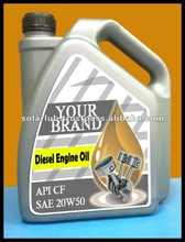 SAE 20w50 Heavy Duty Automotive Diesel Engine Oil
