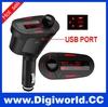Car MP3 Player Wireless FM Transmitter With USB SD MMC Slot