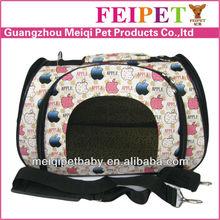 trolley pet carrier/pet travel bag/pet carrier dog