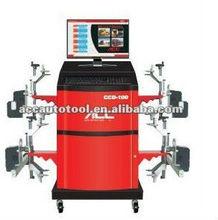 wheel balancing and wheel alignment machine