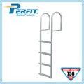 paso 4 estacionaria de aluminio escalera dique