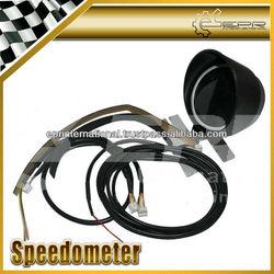 For Defi Digital Sport Gauge Meter Speedometer 60mm White Red