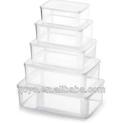 2014Shenzhen new design plastic food box