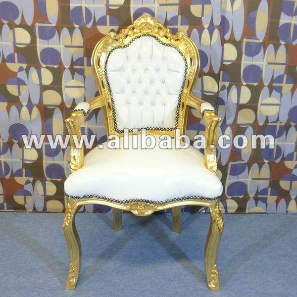 Blanco sill n real neo rococ lujo fabulosos barroco - Muebles estilo barroco moderno ...