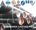 tubos de ferro dúctil chine tipo