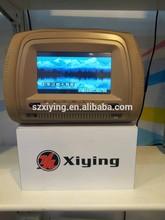 7 inch Headrest monitor DVD with speaker IR FM USB SD function(XD708)