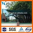 100% HDPE factory colourful cheap green house sun shade netting