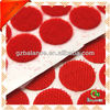 Heat resistance disposable velcro sticky back pre-cut round dots