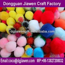 party decoration colorful acrylic pompom