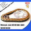 Motorcycle chain,motorcycle chain and sprocket ,45mn motorcycle racing parts