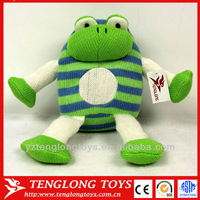 cute baby toy kint frog stuffed green frog toy