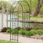 compact dismountable artistic metal rose garden arch