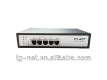 10/100M 5 Port PoE Switch 4 POE ports for IP camera