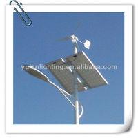 Solar and Vertical Wind Turbine, Hybrid Street Light, Display Enterprises Social Responsibility