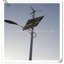 400W Vertical Axis Wind Turbine and Hybrid Solar Streetlight