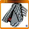 New design universal baby car seat covers grey chevron car carrier cover infant seat cover